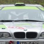 Unterwegs zum Gesamtsieg: Benjamin Hink und Sascha Birko im BMW M3