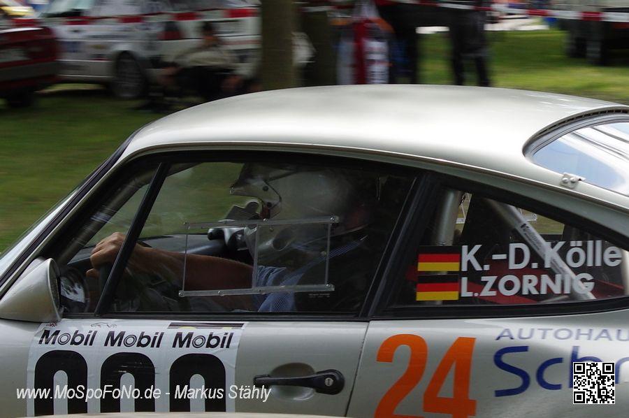 Kai-Dieter Kölle im Porsche Vorauswagen