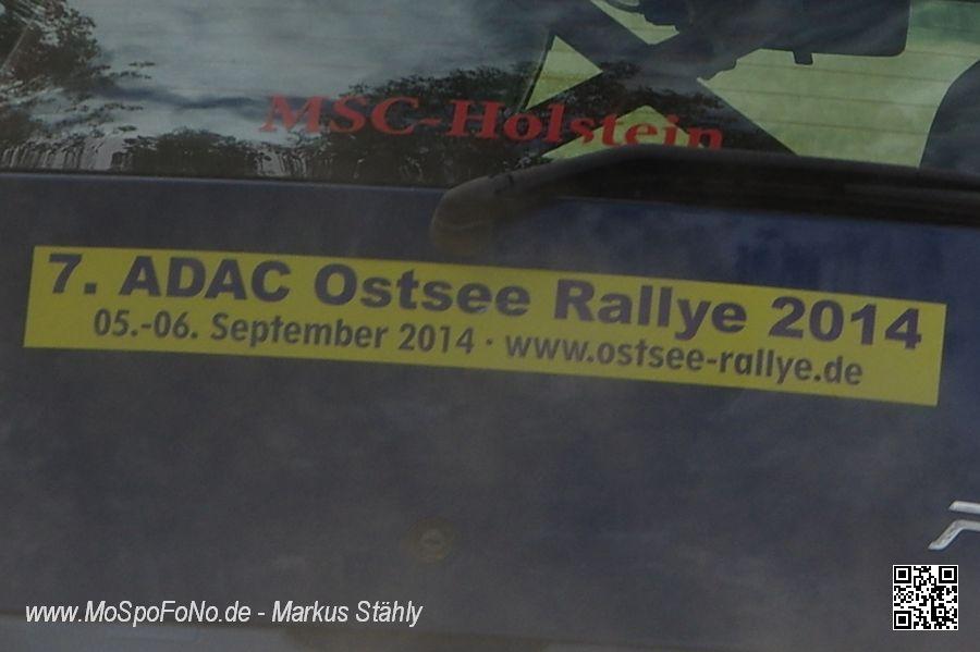 Am 5. und 6. September 2014 ist Ostsee-Rallye!